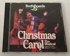 BEEF & BOARDS DINNER THEATRE - A CHRISTMAS CAROL: The Musical CD