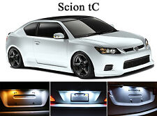 Xenon White License Plate / Tag 168 LED light bulbs for Scion tC (2Pcs)