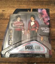 RARE STAR TREK II THE WRATH OF KHAN DEATH OF SPOCK ACTION FIGURE SET **