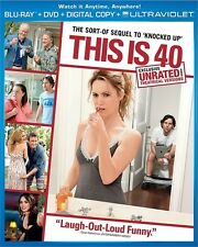 THIS IS 40 New Sealed Blu-ray + DVD Unrated and Theatrical Versions