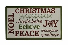 "Attraction Design Christmas Holiday Greeting Welcome Door Mat 28"" x 17"""