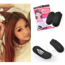 2x Bump it Up Volume Hair Insert Clip Back Beehive Marking style Tool Holder T4