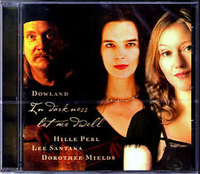 Dorothee MIELDS & Hille PERL: DOWLAND In Darkness Let Me Dwell CD SIRIUS VIOLS