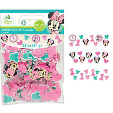 Minnie Mouse Fun to be One 1st Birthday Party Table Decoration Sprinkle Confetti
