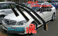 MERCEDES C W 204 saloon 4Doors 03.2007-2014  Wind Deflectors 4pcs. HEKO (23258)