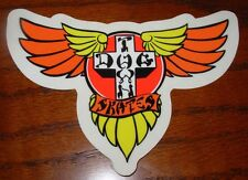 "DOGTOWN dog town Skate Sticker Wings 5.25 X 3.5"" skateboards helmets decal"