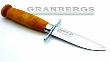 Morakniv Classic Scout Outdoor Knife 39 Wood Handle Stainless Blade Swedish Made