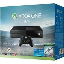 Microsoft Xbox One Madden NFL 16 Bundle 1024 GB Black Console