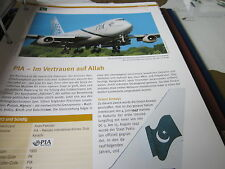 Airlines Archiv Pakistan PIA Pakistan International Airlines Inschallah...8S