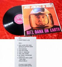 LP Jose Jimenez In Orbit - Bill Dana On Earth (1962)