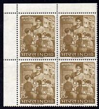 INDIA MNH 1963 Children's Day Block of 4