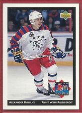 1992-93 Upper Deck McDonald's NHL All-Stars - #22 - Alexander Mogilny - Sabres