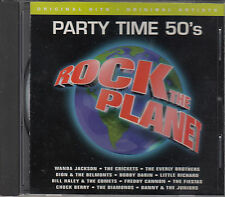 Rock the Planet - Party Time 50's - CD - Wanda Jackson, The Crickets, others