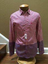 Burberry Brit $285 Checked Shirt in Size Large! Fitted ! NWT.!! Authentic..!!