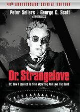 Dr. Strangelove or How I Learned to Stop Worrying and Love the Bomb (40th Anniv