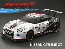 1/10 NISSAN GTR R35 GT  195mm  RC Car Transparent Body