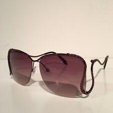 Roberto Cavalli Marutea Brown Square Sunglasses