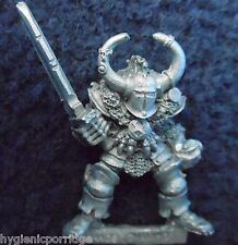1987 Chaos Warrior 0204 01 CH3 Hak'Tgore Citadel Champion Warhammer Army Hordes