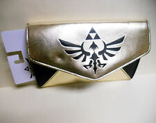NWT NINTENDO the LEGEND of ZELDA skyward sword Gold & Black Long WALLET
