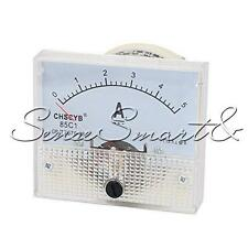 Analog AMP Current Panel Meter DC 5A Ammeter Ampere Gauge Tester 85C1-A