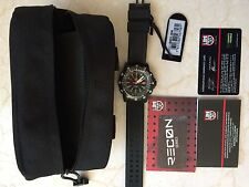 New Luminox New Men's Recon Point Man A.8821.KM Black Rubber Swiss Quartz Watch