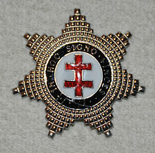 Masonic Knights Templar Preceptors Breast Star (KT032)