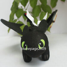 "NEW How To train Your Dragon Night Fury Toothless 9"" plush Stuffed doll"