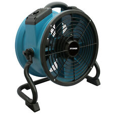 XPOWER X-34TR Variable Speed Industrial Sealed Motor Floor Axial Fan w/ Timer