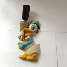 DONALD DUCK ENAMELLED ALUMINIUM WALL LIGHT - ART DECO 1930s-1950s - VERY RARE!