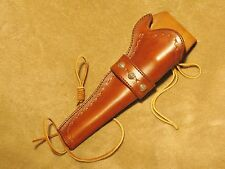 "Western holster for 1851 Colt Navy black powder pistol w/ 7 1/2"" barrel"