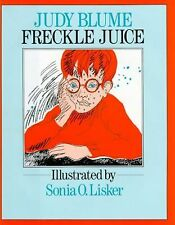 Freckle Juice-ExLibrary