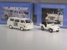 NEU: Wiking C&I SoMo Konvolut UN Edition Nr. 1 und 4: Jeep und VW T3