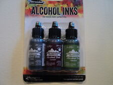TIM HOLTZ Adirondack Alcohol Ink 3 Pk 'COTTAGE PATH' BNIP **LOOK**