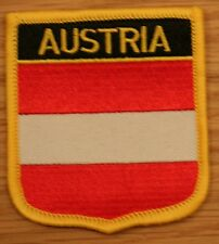 AUSTRIA Austrian Shield Country Flag Embroidered PATCH Badge P1