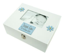 LARGE MEMORY BOX BOY WITH 7X5 PHOTO FRAME