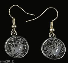 Hand Made Faux Coin Earrings HCE097