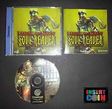 JUEGO DREAMCAST LEGACY OF KAIN - SOUL REAVER  (PAL / ALEMAN!!) GERMAN LANGUAGE