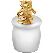 Fée des dents boîte avec plaqué or moving éléphant argent 925 de ari d norman