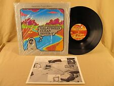 RELATIVELY CLEAN RIVERS Private CA Electric Folk Psych LP in SHRINK TOP! Hear It