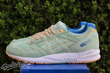 ASICS GEL SAGA SZ 13 SMOKE GREEN EASTER PACK H6A0L 7474