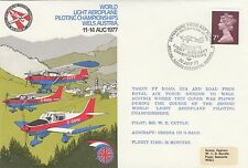 (91075) GB Cover RAF Light Aeroplane Championships  Wels BFPS 1589 30 July 1977