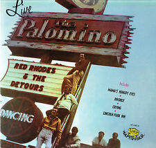 RED RHODES & THE DETOURS Live At The Palomino LP US Happy Tiger HT-1003 Stereo