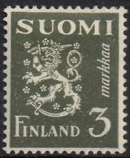 Finland 1930 3m Coat of Arms sg 274 mh