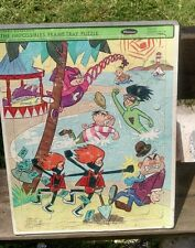 The Impossibles Frame Tray Puzzle, Hanna-Barbera, 1967, Whitman, COOL! Vintage!H