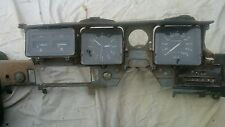 Holden hz statesman dash frame, speedo, clock, temperature, fuel, oil, amps,