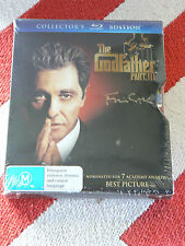 "THE GODFATHER - Part III In ""Metal Embossed Slipcase"" OOP.(Blu Ray) Brand New"