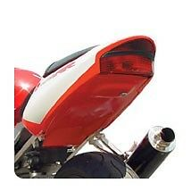 Hotbodies Undertail Honda CBR929RR 00-01, STYLE: Supersport, COLOR: RED