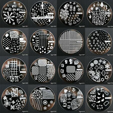 Manicure Template Nail Art Printing Image Stamp Plate Series Tool Set 60 Style