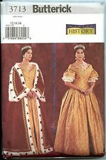 Queen Dress & Robe Early 19th Centry OOP -  Making History Patten Sizes 12-14-16