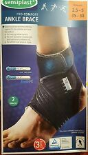 Pack of 2x ANKLE SUPPORT BRACE BANDAGE FOOT Size UK 2.5_5, EU 35_38